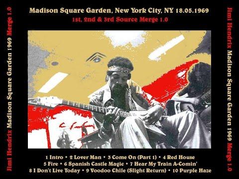 Jimi Hendrix- Madison Square Garden, NY 5/18/69