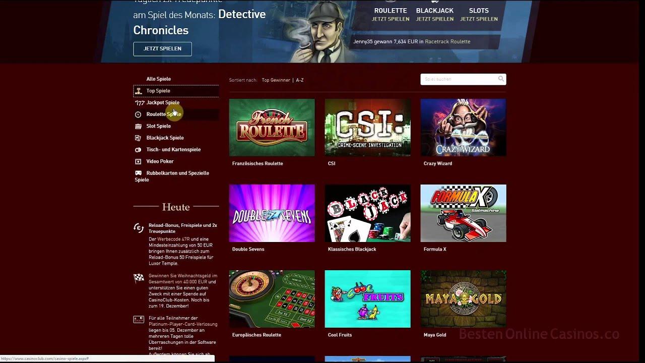 Casino Seite Erstellen