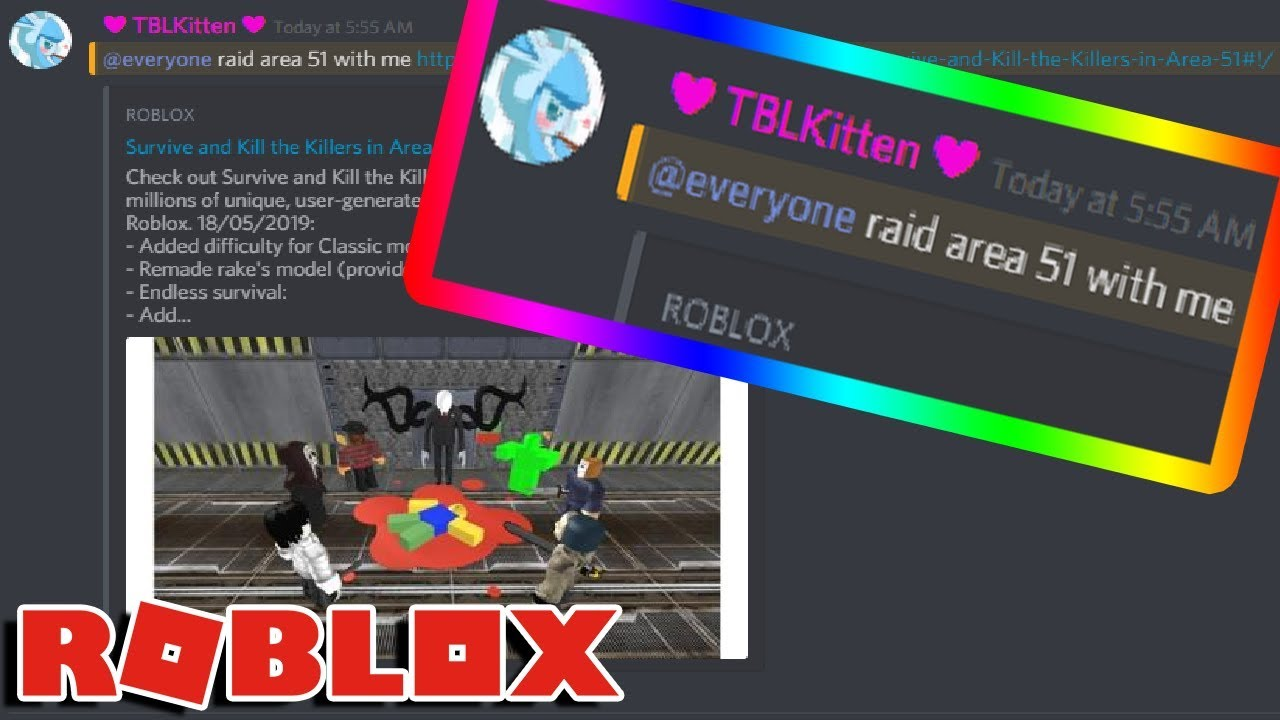 I Got Roblox Users To Raid Area 51 With Me - area 51 raid roblox id