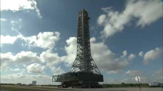 Mobile Launcher Moves to Launch Pad