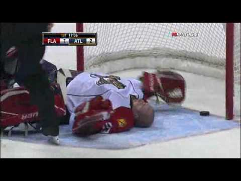Remember when Keith Ballard hit Vokoun in the head with his stick