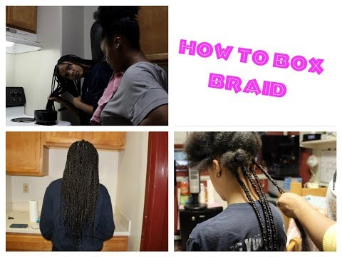 How To Box Braid Beginner Friendly  Protective Style