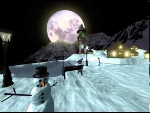 Winter Wonderland Animated 3D Model