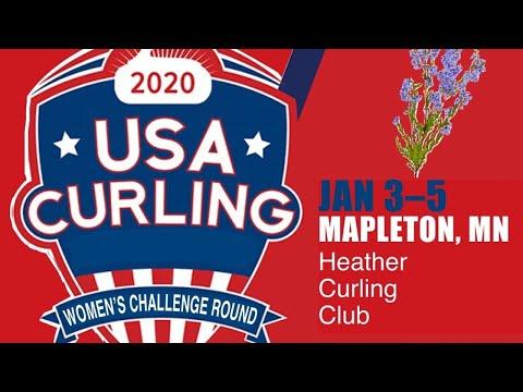 USA Curling Women's Challenge Round- Day 3