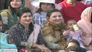 Cricket team attends flag lowering ceremony at Wagha Border