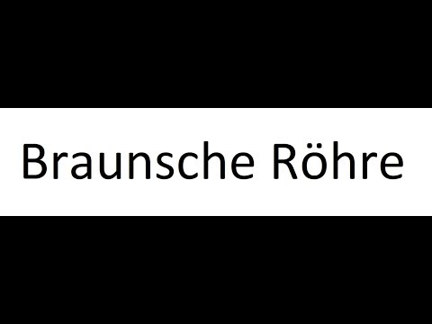 Braunsche Röhre Teil 9 Bahngleichung from YouTube · Duration:  1 minutes 46 seconds