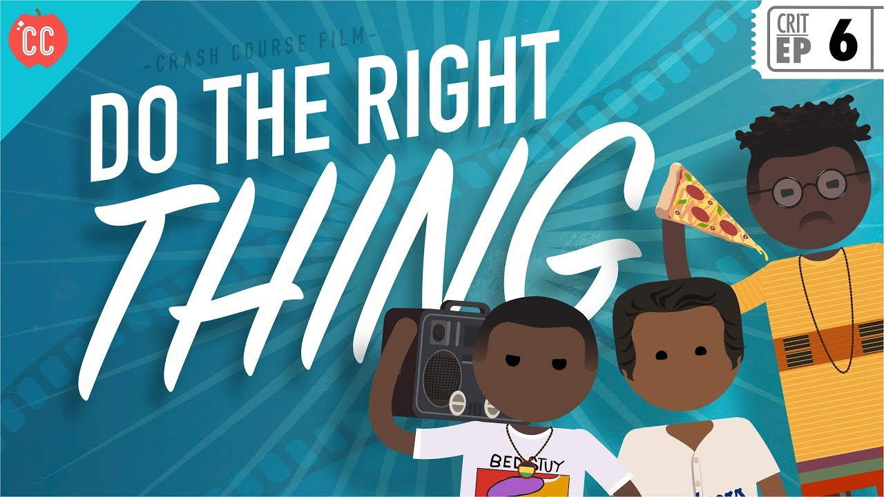 Do The Right Thing Crash Course Film Criticism 6 Youtube