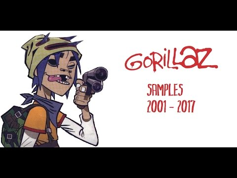 Samples used in the music of Gorillaz (2001-2017) - YouTube