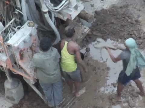Fantastic construction of Borewell in Vedant Complex, Thane, India..!!