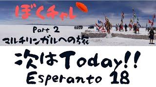DuolingoでEsperanto #18 「Today」カテゴリに挑戦!