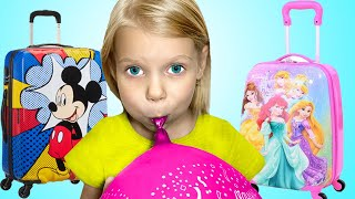 Baby Vitalina Pretend Play with Luggage Suitcase Toys | Fun Vacation Travel Toy for Kids