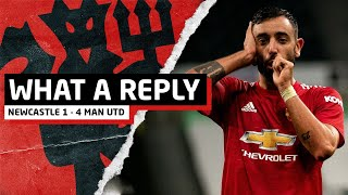 What A Reply!   Newcastle 1-4 Manchester United   United Review