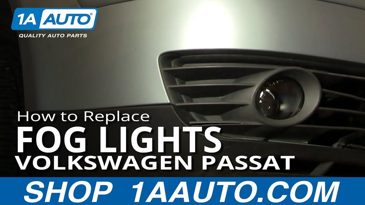 How To Install Replace Fog Light And Bulb Volkswagen Passat 02 05 Aftermarket Wiring Diagram 1aautocom Youtube