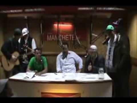 Grupo Sambalô - Entrevista e acústico, na rádio Manchete 760 AM RJ