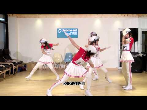 [Crayon Pop] 크레용팝 빠빠빠(Bar Bar Bar) 안무영상