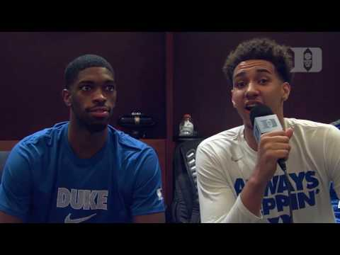 DBP: Chase Jeter with Amile Jefferson after the Florida win
