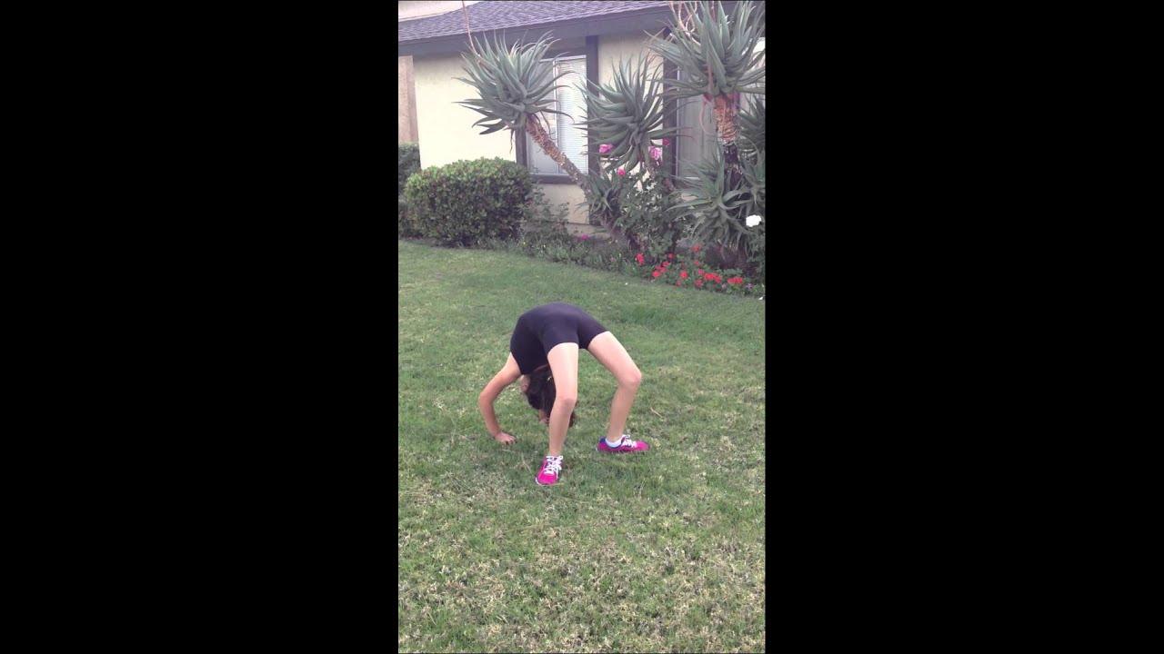Seven gymnastics girls audition. - YouTube