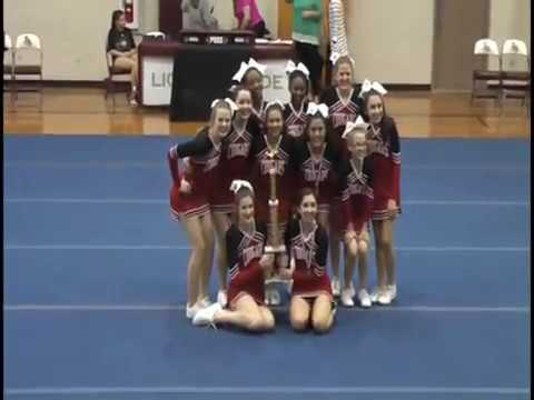 Humble Christian School Cheer 2017/2018 TCAL State Cheer Champions
