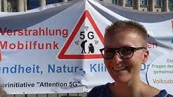 Stopp 5G Demo in Berlin: 5G ist gesundheitsschädlich