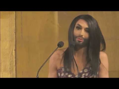 The unstoppable future of love, respect and tolerance: Conchita Wurst at TEDxAmRing