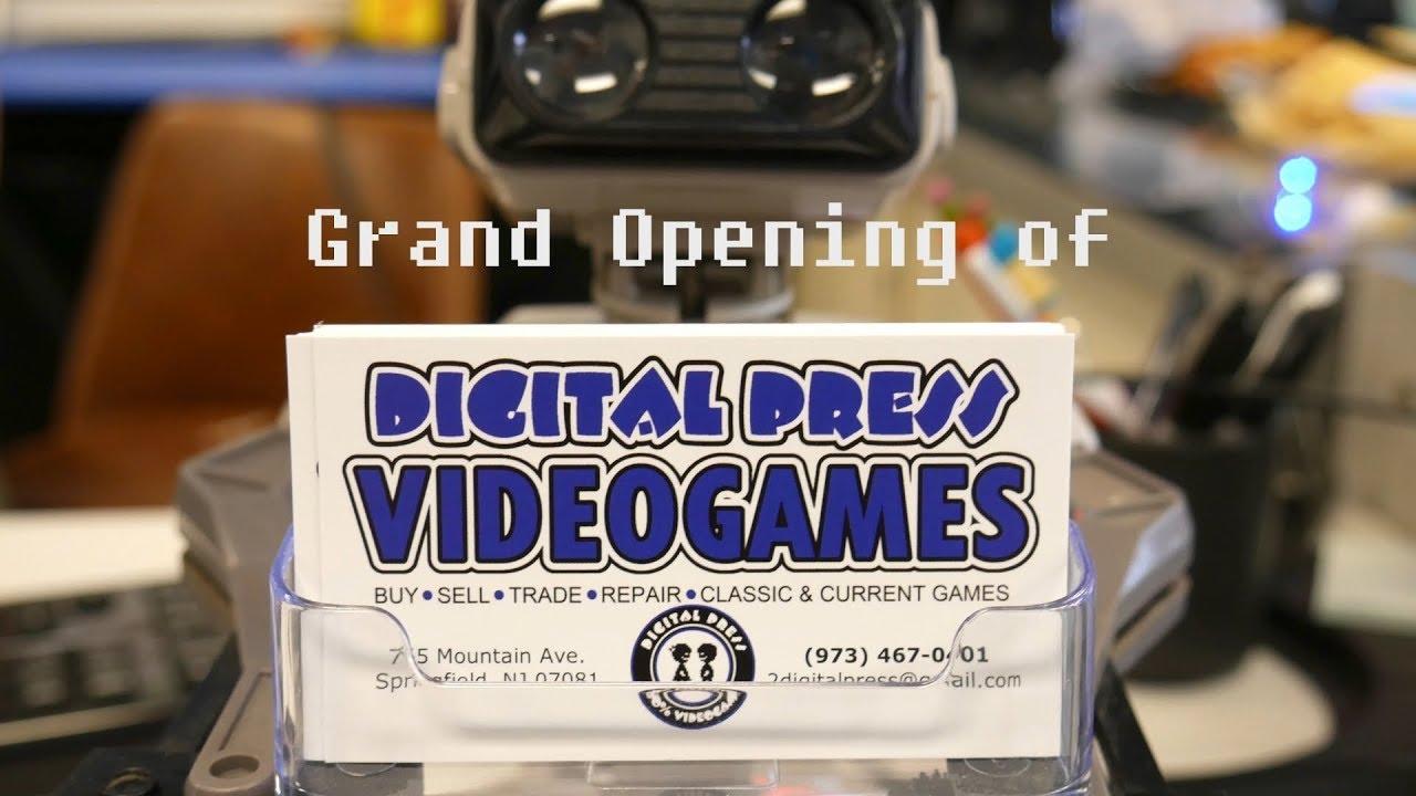 Grand Opening! Digital Press Videogames 2 - Springfield, NJ