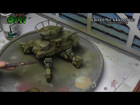 How to paint a realistic looking tank
