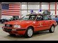 1992 Audi 80 Quattro Red