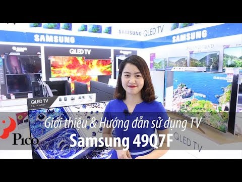 Review & Hướng dẫn sử dụng TV Samsung Q7F - Видео с YouTube на