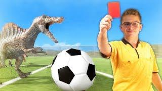 אליפות הדינוזאורים בכדורגל!