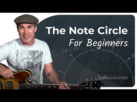 The Note Circle • Practical Music Theory • Grade 1 • JustinGuitar • MT-101