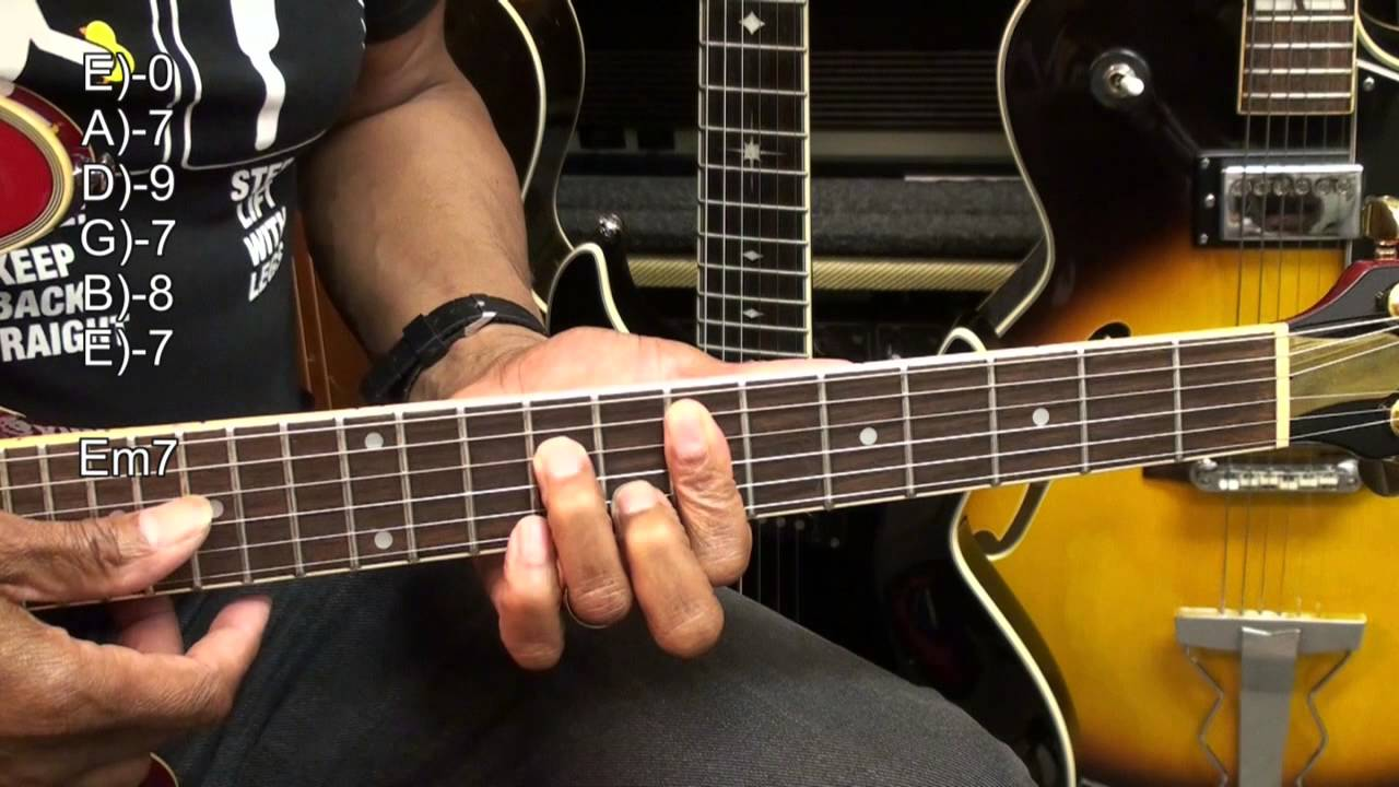 Bb King The Thrill Is Gone Guitar Chord Tabs 306 Tutorial Lesson