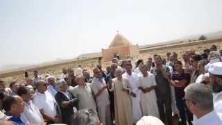 اجتماع حاشد للمئات من أولاد سيدي نايل بعين الملح ولاية المسيلة