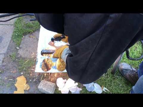 WELDING STEEL FLOWERS SCRAP METAL ART
