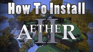 Minecraft: How To Install The Aether 2 Mod (Mac) 1080p