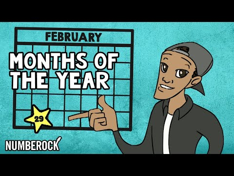 Days In The Months Of The Year Song: Online Education Music Video