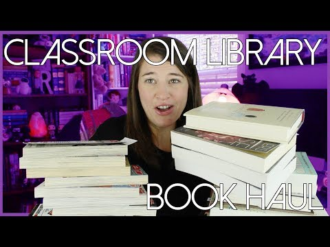 CLASSROOM LIBRARY BOOK HAUL   July 2017