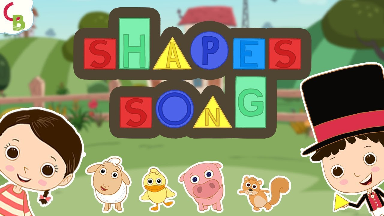Learn Shapes for Kids and Toddlers - Shapes Song by Team Berries ...