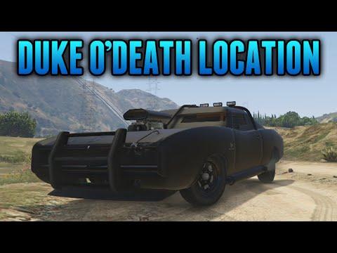 Gta 5 Rare Cars Imponte Duke O Death Spawn Location Gta 5 Rare