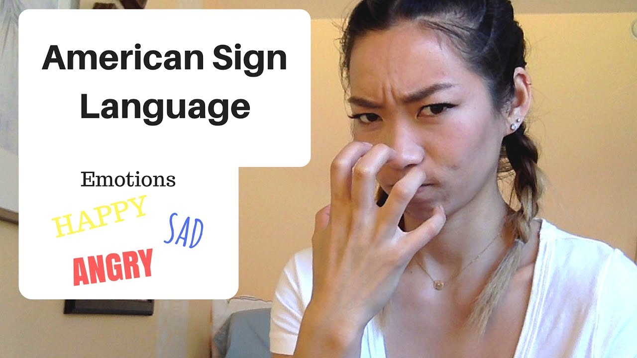 How to Sign Feelings and Emotions in American Sign Language  |Sign Language Signs For Emotions