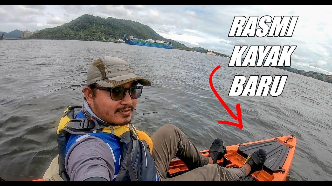 Akhirnya dapat turun laut test KAYAK BARU Sunshine Kayak GT