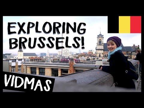 EXPLORING BRUSSELS 🎵✈️ 🇧🇪 VIDMAS #4