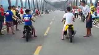 Drag Race In Bangued Abra Mio Vs Mio 160cc nice game