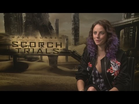 Kaya Scodelario talks bonding on the Maze Runner set, Johnny Depp and wedding plans