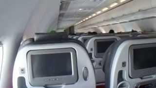 Turbulencia aterrizando en la ciudad de Bogotá vuelo Avianca