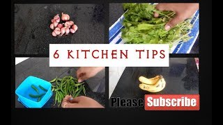 6 useful kitchen tips Part 2    Kitchen tips in tamil    Tried and tested