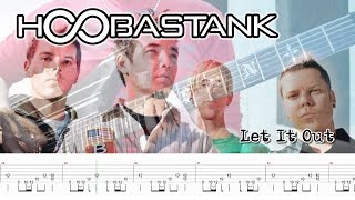Hoobastank - Let It Out (Guitar Cover + Screen TABS)