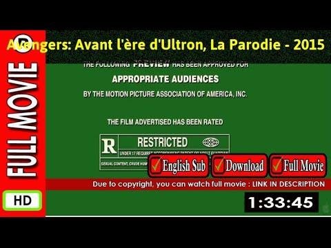 Watch Avengers  Avant l ère d Ultron, La Parodie (2015 Video) poster