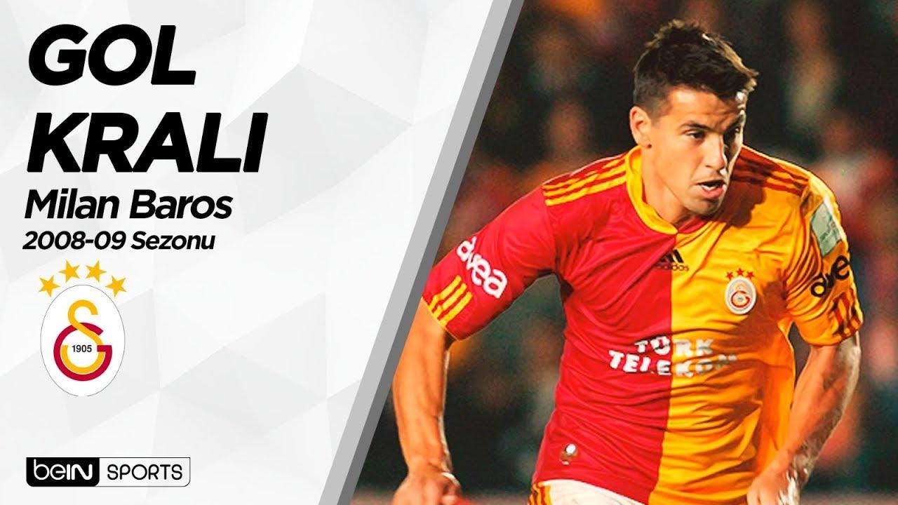 Süper Lig'in Gol Kralları | 2008-09 | Milan Baros