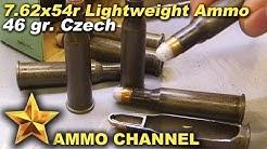 7.62x54r Czech 46 gr featherweight ammo