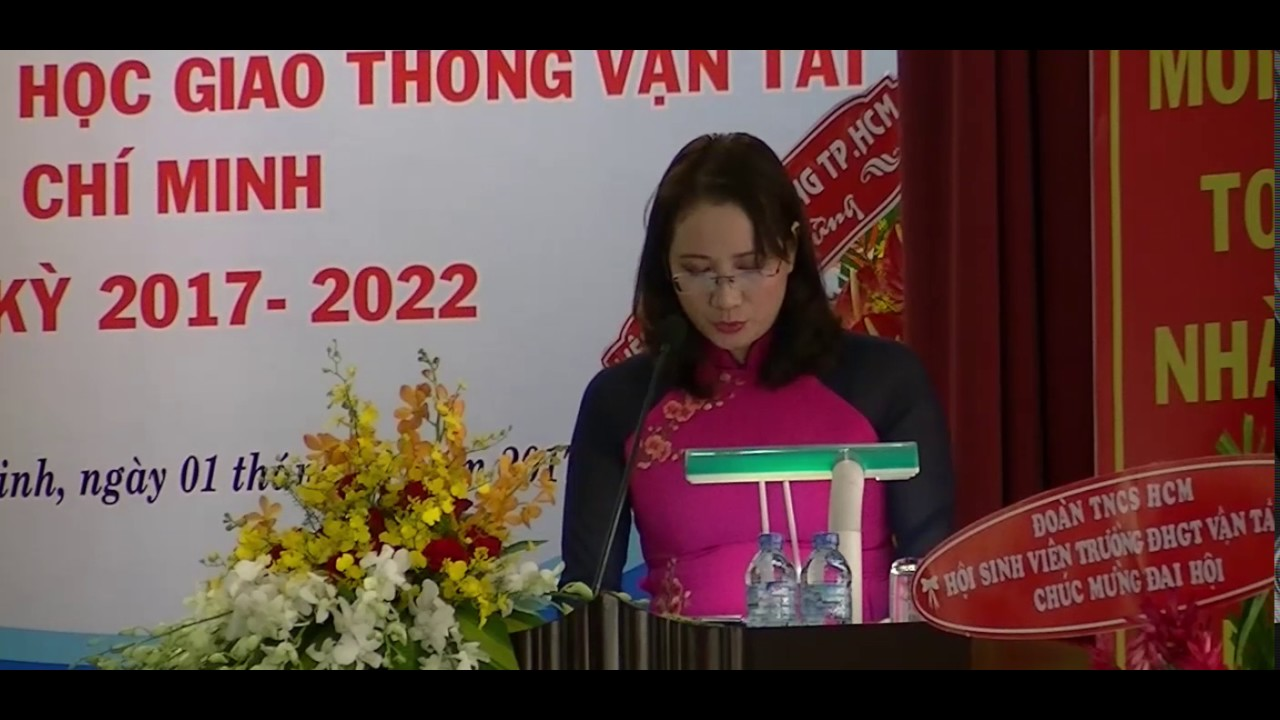 (GTS – Tuyên giáo) Đại hội Công đoàn cơ sở Trường ĐH GTVT TP.HCM lần thứ X nhiệm kỳ 2017-2020